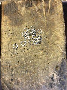 Mise en forme des anneaux