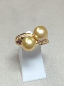 Perles Gold d'Australie-Métaph'Or